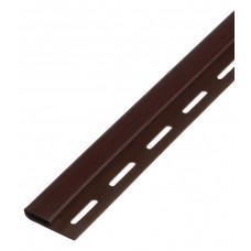 Планка финишная SAYGA SV-14 3050 коричневый
