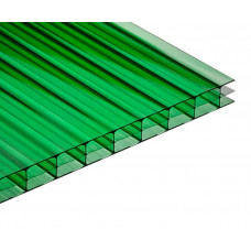 Поликарбонат POLIPLAST зеленый 8мм 2100*12000мм