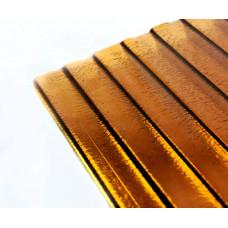 Поликарбонат POLIPLAST коричневый 6мм 2100*12000мм