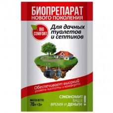 Средство для дачных туалетов и септиков Биокомфорт (70гр)