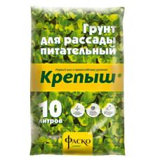 """ГРУНТ """"КРЕПЫШ"""" ДЛЯ РАССАДЫ 10 Л"""