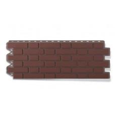 Панель Фасайдинг Дачный Кирпич Клинкерный Жженный 1125х488 мм