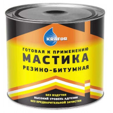 МАСТИКА РЕЗИНО-БИТУМНАЯ 4 КГ