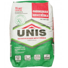 Шпатлёвка финишная ЮНИС 20 кг