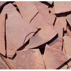 Песчаник плитняк,30мм (терракот)